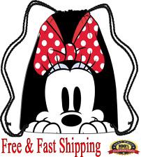 Disney Tote Bags Minnie Mouse Drawstring Bags Original
