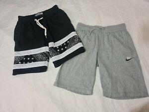 Mens Medium Shorts Nike supply and demand grey black (19)