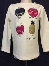 New/Tags 2T Gymboree Baby Girl's 100% Cotton Long Sleeve T-Shirt