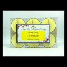 Ylang Ylang Scented Soy Tea Lights - GeriBeri Scented Candles