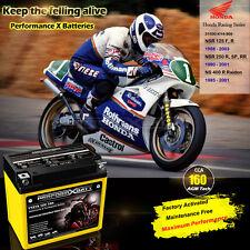 AGM Battery for Honda NSR125 NSR250 R NS400R RC213V-S CBR125R CBR1000RR 12V 7Ah