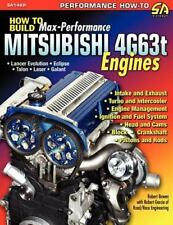 How to Build Max-Performance Mitsubishi 4G63t Engines Book~Lancer-Eclipse...NEW
