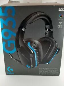 Logitech G935 Lightsync Wireless Gaming Headset - Schwarz (981-000742)