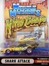 "MUSCLE MACHINES 1991 CORVETTE ""SHARK ATTACK"" 1:64TH SCALE DIE CAST NOS"