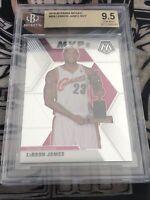 LeBron James 2019-20 Panini Mosaic #298 MVP Base SP BGS 9.5 GEM MINT Cavaliers