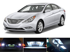 LED Package - License Plate + Vanity + Reverse for Hyundai Sonata (6 Pcs)