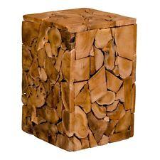 pkline Taburete Moisés AUS teca Taburete madera taburete madera de teca