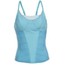 Nike Fitness Damen Corset Shirt Tank Fitness Top 226153-470 Gr. M blau neu