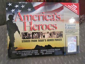 2011 P NGC PR70DCAM*E MOY SIGNED*9-11-MEMORIAL*America's Heroes Book*