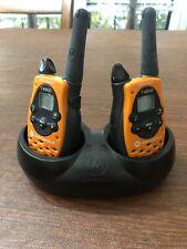 Set of 2 Motorola Talkabout T4900 2-Way Radio Walkie Talkies  & Charger Port