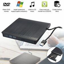DE USB 3.0 Externes CD DVD-RW Brenner Slim DVD Laufwerk für PC Laptop Linux Mac