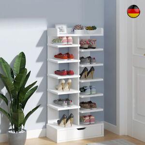 Schuhschrank Schuhablage Schuhregal Schuhständer Schuhaufbewahrung Weiß NEU