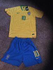 Neymar Jr. Brasil National Team Jersey and Short set Size Adult X-large.