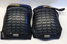 Irwin Knee Pads All Terrain Protection Safety Cap Double Straps New