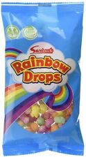 Swizzels Rainbow Drops Old Fashioned Sweets - 15, 30 or 60 Bags - Packed Lunches