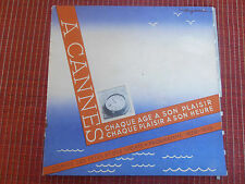 super guide sur Cannes polo , régates , tennis , Alpes Maritimes 06 ( ref 19 )