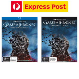 Game of Thrones The Complete Collection Blu-Ray/DVD RB/R4 Box Set NEW EXPRESS