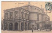 DUNKERQUE 17 le théâtre timbrée 1908