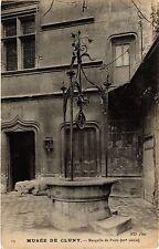 CPA Paris 5e-Musée de Cluny-Margelle de Puits (323664)