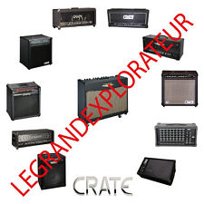 CRATE SLM Audio  Operation Repair Service Schematics manuals   Collection on DVD