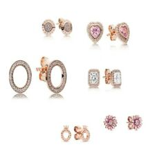 AUTHETNIC-GENUINE PANDORA ROSE®  EARRINGS  ALE R