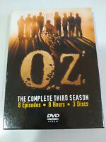 OZ Terza Stagione 3 Completa - 3 X DVD Spagnolo Inglese Regione 1 - 3T