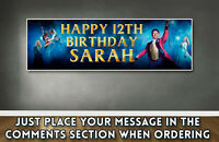 "Personalised The Greatest Showman Birthday Banner 36"" x 11"" - Gloss Photo Paper"