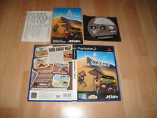 PARIS DAKAR RALLY 1 DE ACCLAIM PARA LA SONY PLAY STATION 2 PS2 USADO COMPLETO