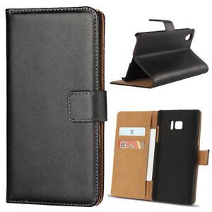 Luxury Genuine Real Leather Flip Case Wallet Cover For Sony XZ2 XA2 L2 XZ2 XZP