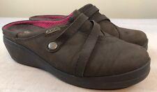 CROCS Womens Clogs Size 7 Brown Shoes
