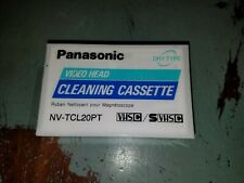 Video Head Cleaning Cassette Panasonic Vhs-C /Svhsc | Factory Sealed | New |