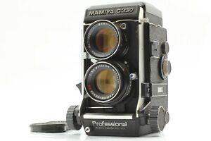 【NEAR MINT】 MAMIYA C330 Pro 6x6 TLR Camera w/ DS 105mm f/3.5 Blue Dot Lens Japan