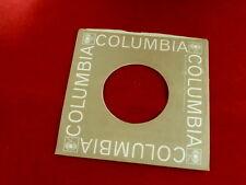 "COLUMBIA ~ VINTAGE ORIGINAL ~ RECORD COMPANY SLEEVE ~ 7"" SINGLE 45 RPM"