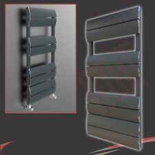 """500mm(w) x 1000mm(h) """"Wave"""" Anthracite Designer Aluminium Towel Rail (2362 BTUs)"""