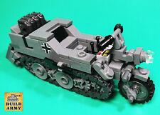 WW2 German Sd-Kfz-2 tracked motorcycle MOC brick by Buildarmy®