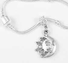 Sun and Moon Bracelet  Heaven  Celestial  zodiac  astrological best jewelry gift