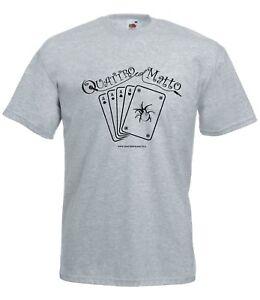 T-shirt Maglietta QLM_01 Quattro col Matto Manicomio Musicale Itinerante Band
