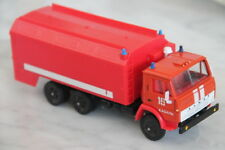 Kamaz bomberos autobomba camiones Fire Truck 1:43 URSS USSR CCCP RDA Russian