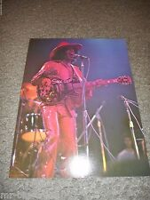 "SLY STONE - ORIGINAL 1974 RISING SIGNS LARGE POSTER CARD - 8 1/2"" X 11"""