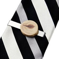 Wood Tie Clip - Trees - Tie Bar - Business Gift - Handmade - Gift Box