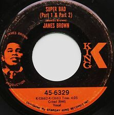 60S FUNK / BREAKS 45 JAMES BROWN ON KING - IN D VERSAND KOSTENLOS AB 5 45S!