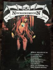 Necronomicon Issue No 4 -  RARE 1993 UK A4 CULT CLASSIC HORROR FANZINE MAGAZINE