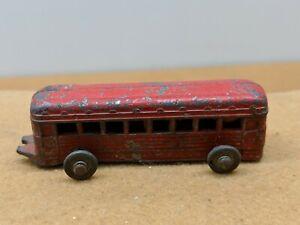 Vintage 1930s Barclay Slush Cast Metal Toy Train Car  PASSENGER
