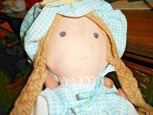 "Vintage 1974 The Original Holly Hobbie Doll 12"" Tall Knickerbocker Toy Co"