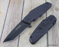 8 INCH SCHRADE G-10 HANDLE LINER-LOCK FOLDING KNIFE WITH POCKET CLIP