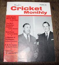 Playfair Cricket International - December 1963 - India Awaits MCC Team