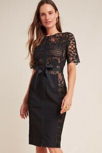 Anthropologie Beguile by Byron Lars Carissima Lace Dress Size 00P Petite NEW