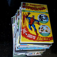 "COMICS       ""AMAZING SPIDER - MAN""   31 Bande      Zustand  0/1 bb"