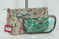 Neu Oilily Reise Travel Beautycase Set Kosmetik Tasche Kulturbeutel UVP29€ 10-16