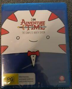 Adventure Time - Season 9 Blu-ray Brand New Sealed